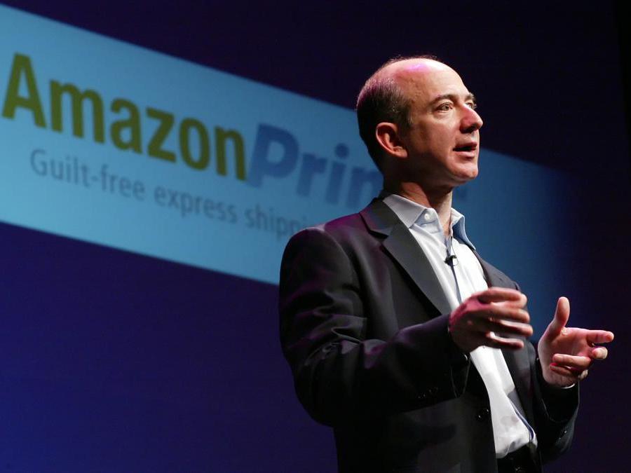 2007 - Bezos a un meeting a Seattle. (AP Photo/Marcus R. Donner, file)