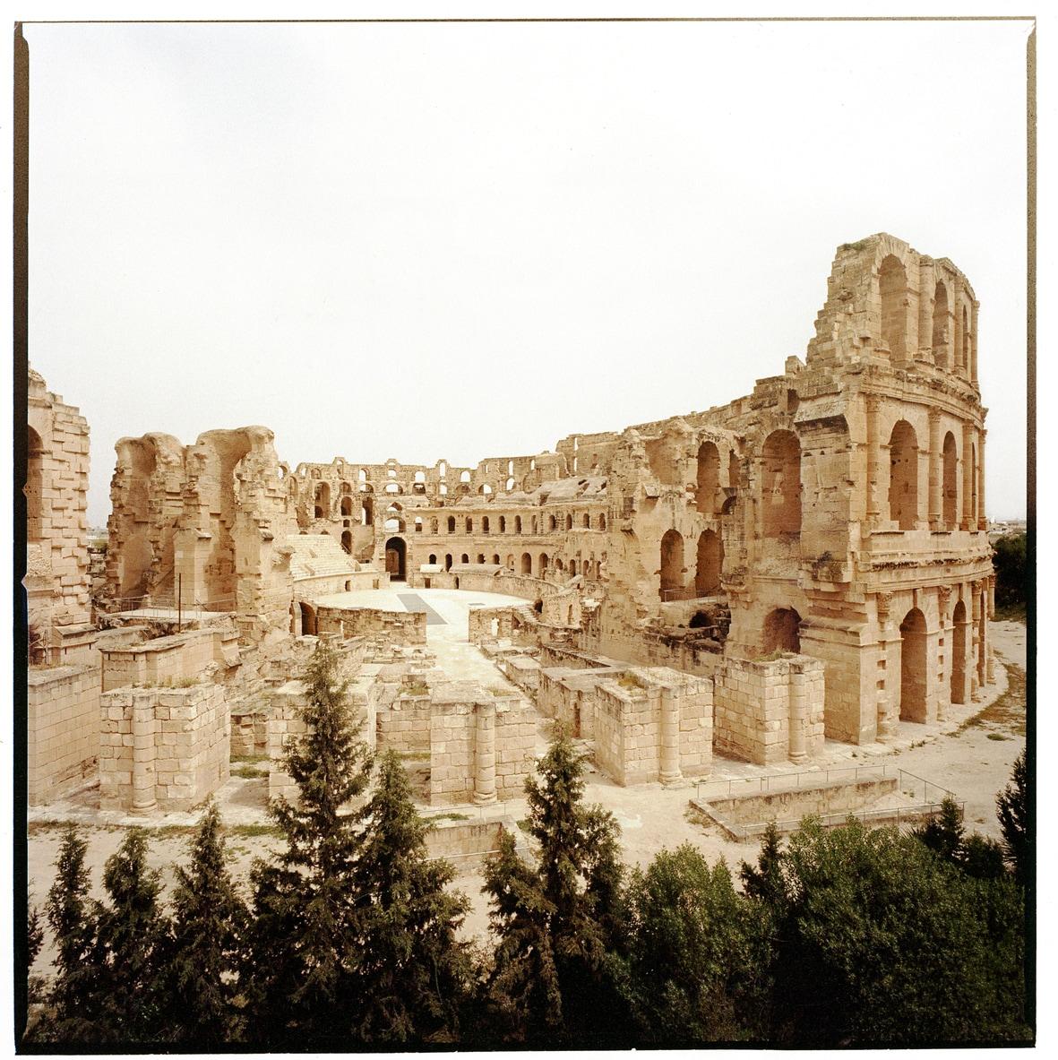 ROMA IN AFRICA: UN VIAGGIO FOTOGRAFICO. Thysdrus, Tunisia. Credit Donata Pizzi.