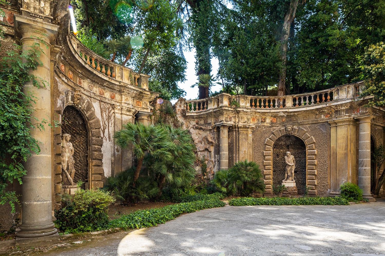Palazzo Brancaccio, ninfeo (foto di Serena Eller)