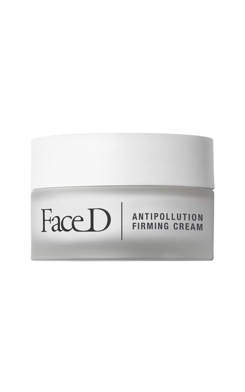 FACED Crema rassodante SPF 15 per viso e collo, protegge dagli agenti inquinanti con acido ialuronico e probiotici. Senza parabeni, alcool, ftalati, solfati, petrolati, coloranti, siliconi. (50 ml, disponibile anche pack free, 28,50 €).