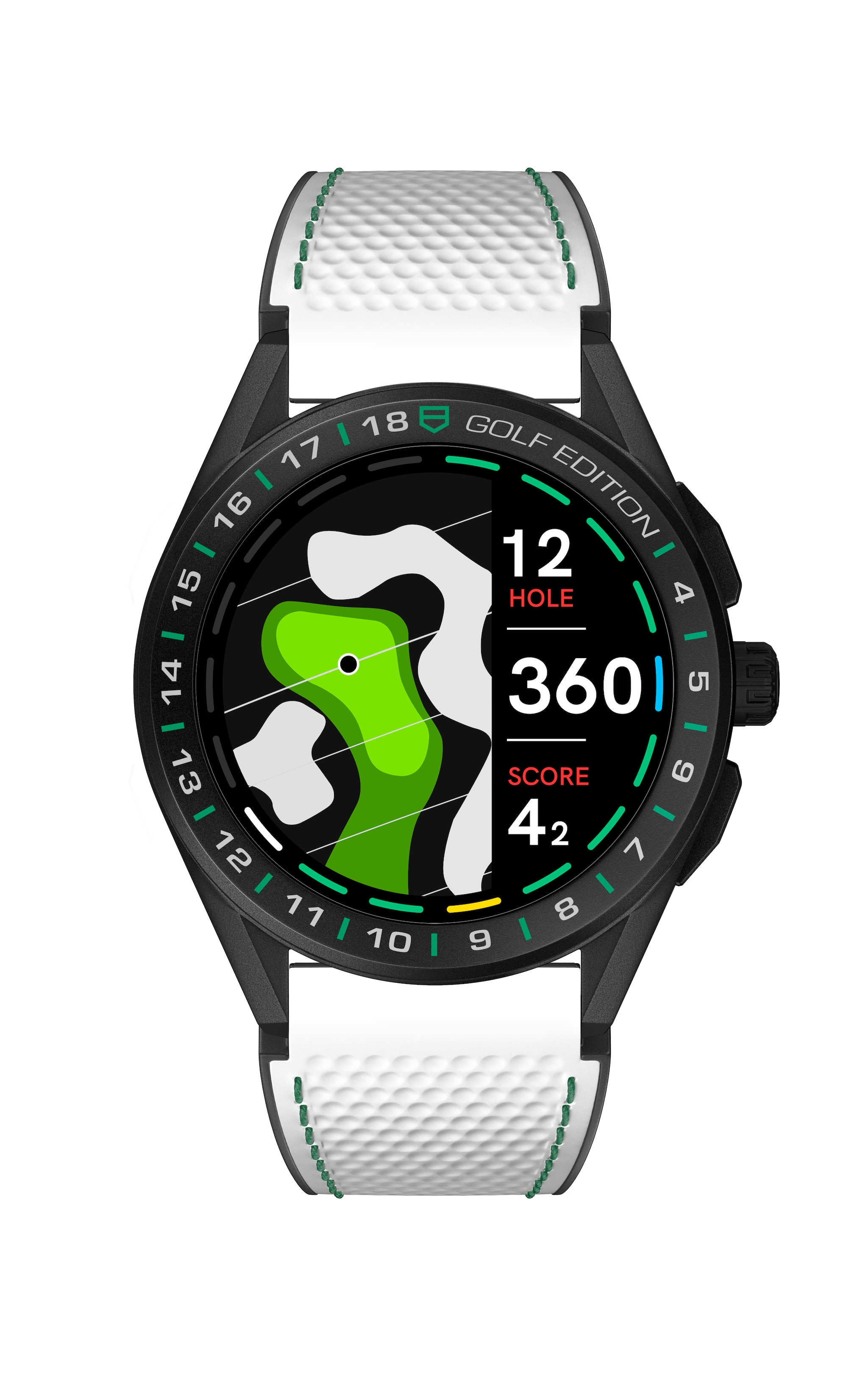 Connected Watch Golf Edition di TAG HEUER