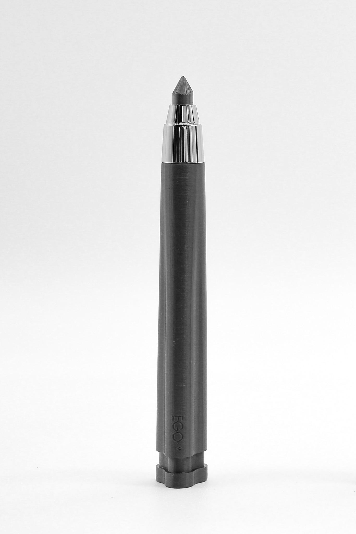 Matita in filamento di grafene Cento3, progetto inedito di Achille Castiglioni con Gianfranco Cavaglià, realizzato con stampante 3D, EGO.M (50 €).