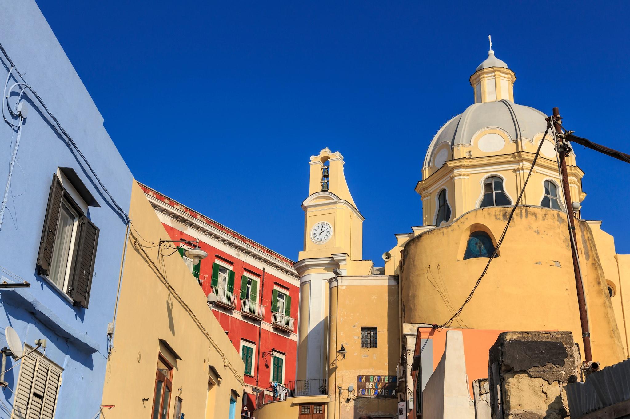 Santa Maria delle Grazie a Marina Corricella.