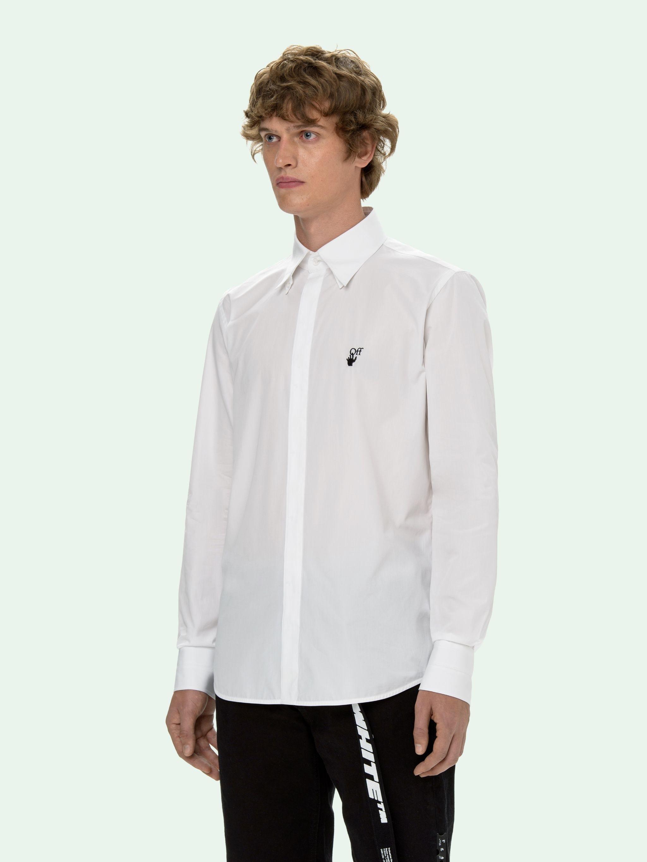 OFF WHITE Camicia Hand Off in popeline di cotone (375 €).