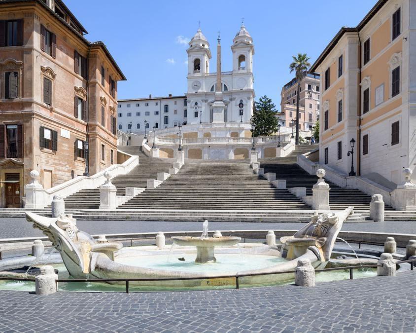 Roma, piazza di Spagna (Alessandro Coco).
