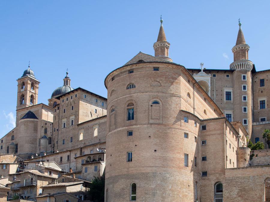Urbino, piazza Mercatale (Giuseppe Zicarelli).