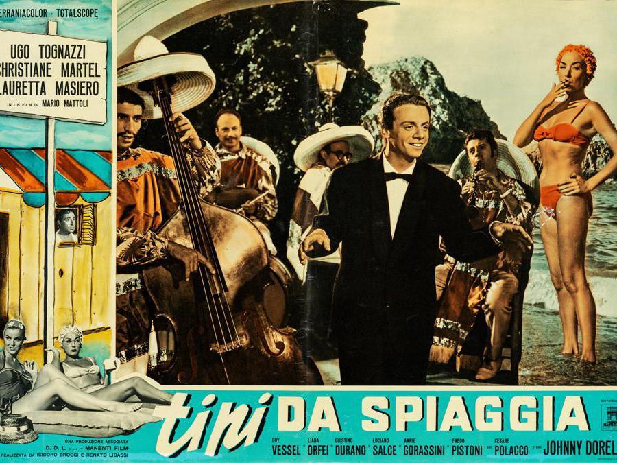 Tipi da spiaggia 1960. Regia Mario Mattoli