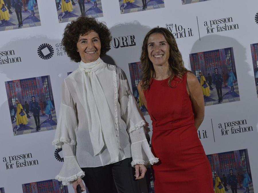 Nicoletta Polla Mattiot, direttore di How To Spend It e Karen Nahum Vice Direttore Generale Area Publishing & Digital Il Sole 24 Ore