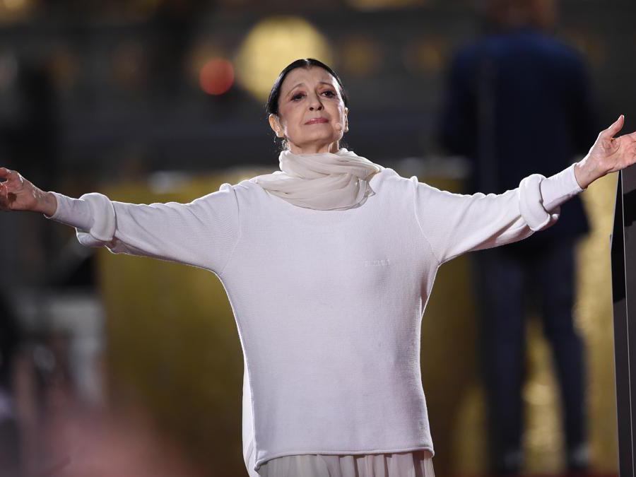 Carla Fracci,  2019 (Andrea Diodato/NurPhoto via Getty Images)