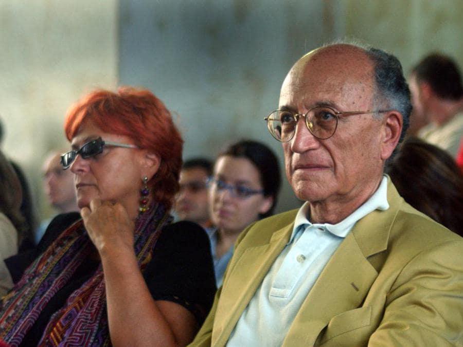 llda Boccassini e Francesco Saverio Borrelli - 2005 (Maurizio Maule/Fotogramma)