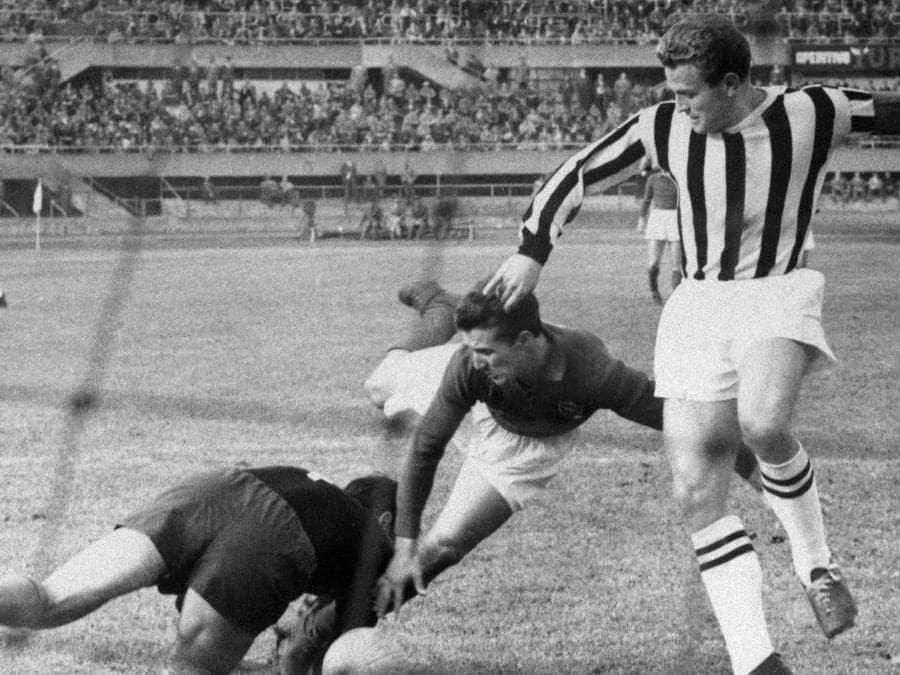 Juventus -  Giampiero Boniperti nel 1950 (Juventus FC - Archive/Juventus FC -  Getty Images)