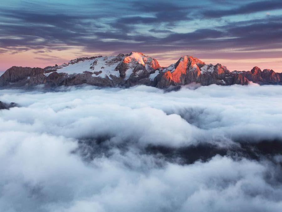 Gruppo della Marmolada, Val di Fassa - Trentino  (Adobestock)