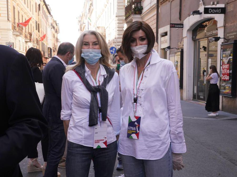 Annamaria Rizzottti, e  Annamaria Bernini di   Forza Italia
