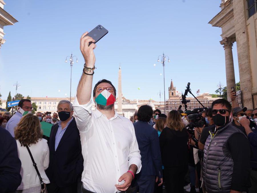 Matteo Salvini (Foto di Livio Anticoli)