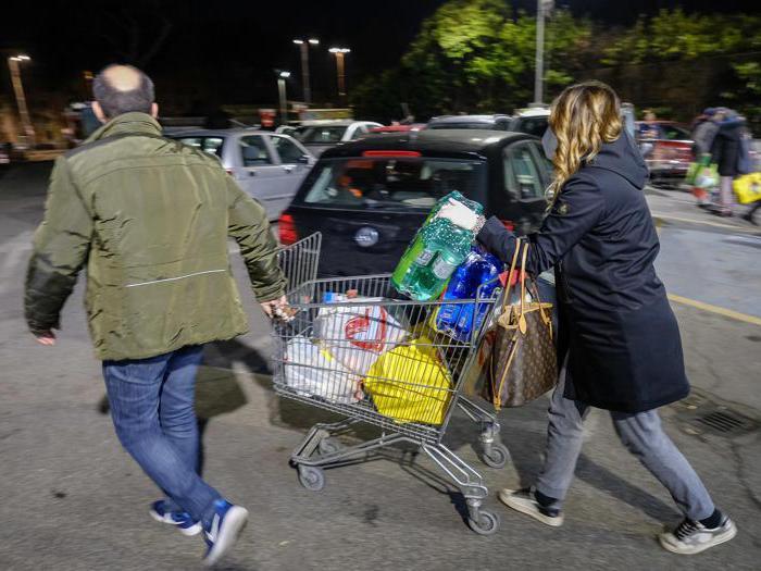 Coronavirus, la corsa ai supermercati