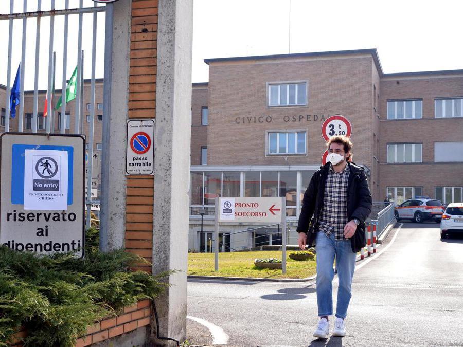 Codogno (LO), Civico Ospedale (Ansa)
