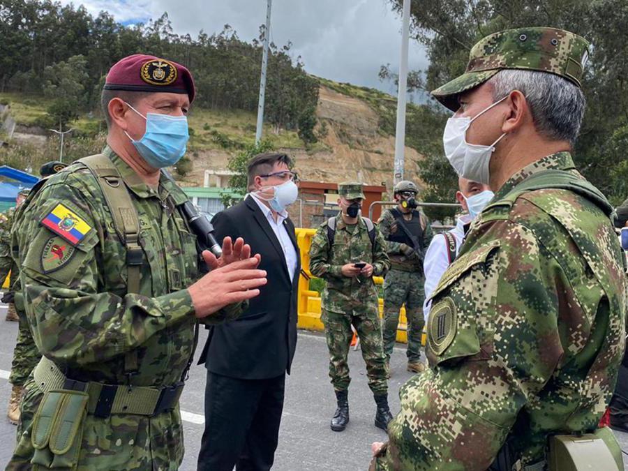 Ecuador  EPA/COLOMBIAN NATIONAL ARMY HANDOUT /SOLO USO EDITORIAL /NO VENTAS HANDOUT EDITORIAL USE ONLY/NO SALES