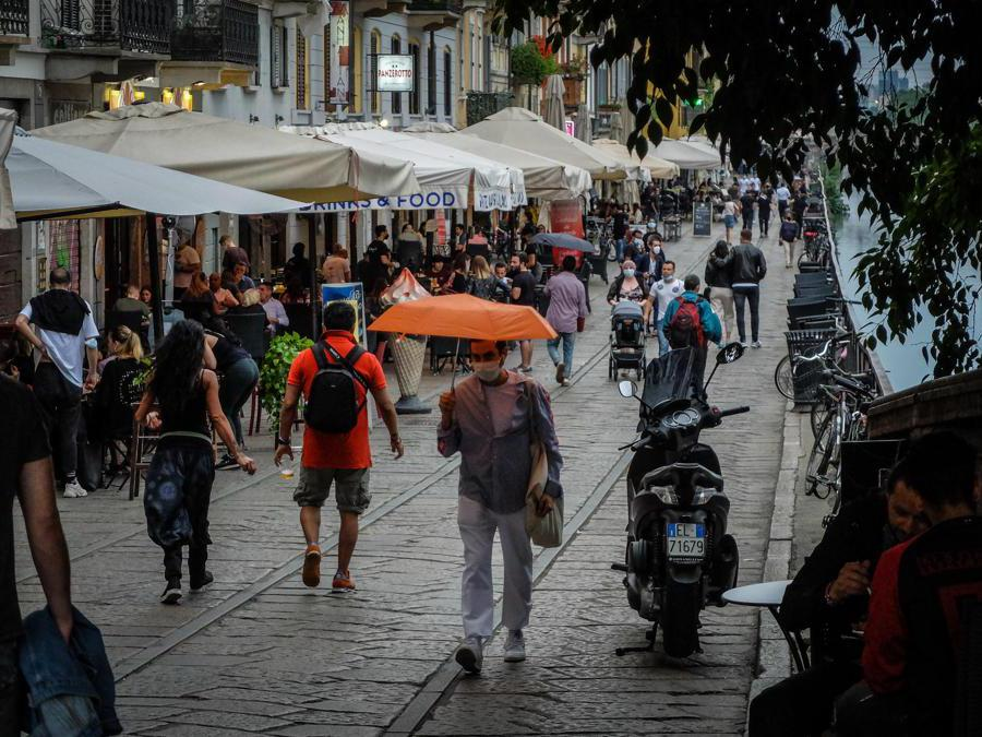 Milano (ANSA/MATTEO CORNER)