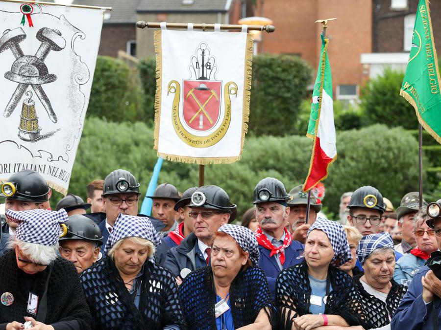 Commemorazione del 60esimo anniversario dell'incidente. (BELGA PHOTO VIRGINIE LEFOUR)