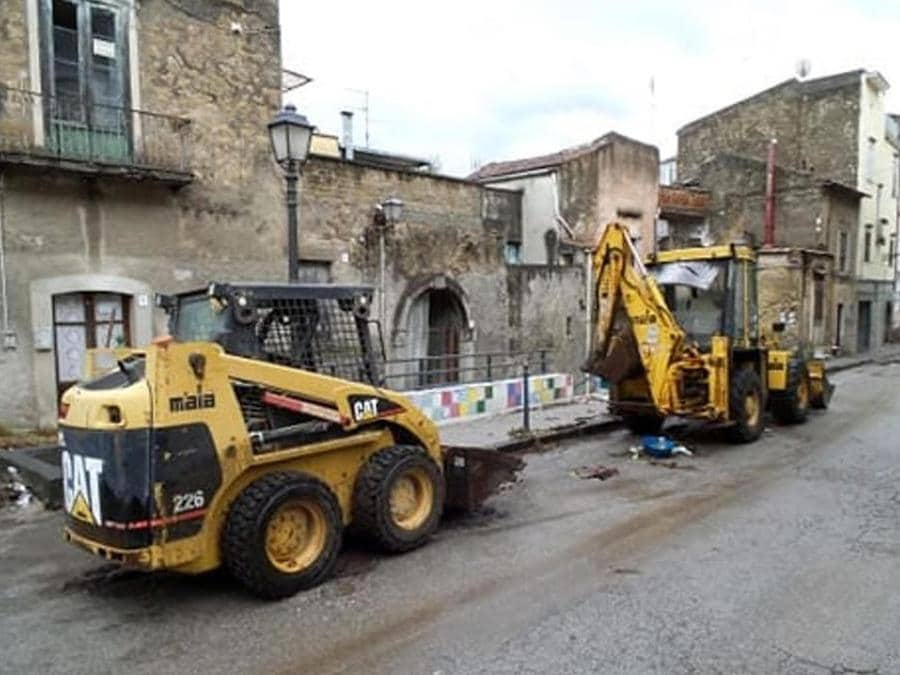 Danni e disagi a Castel San Giorgio (Salerno)  (Ansa/Salerno Today/Antonio Capuano)
