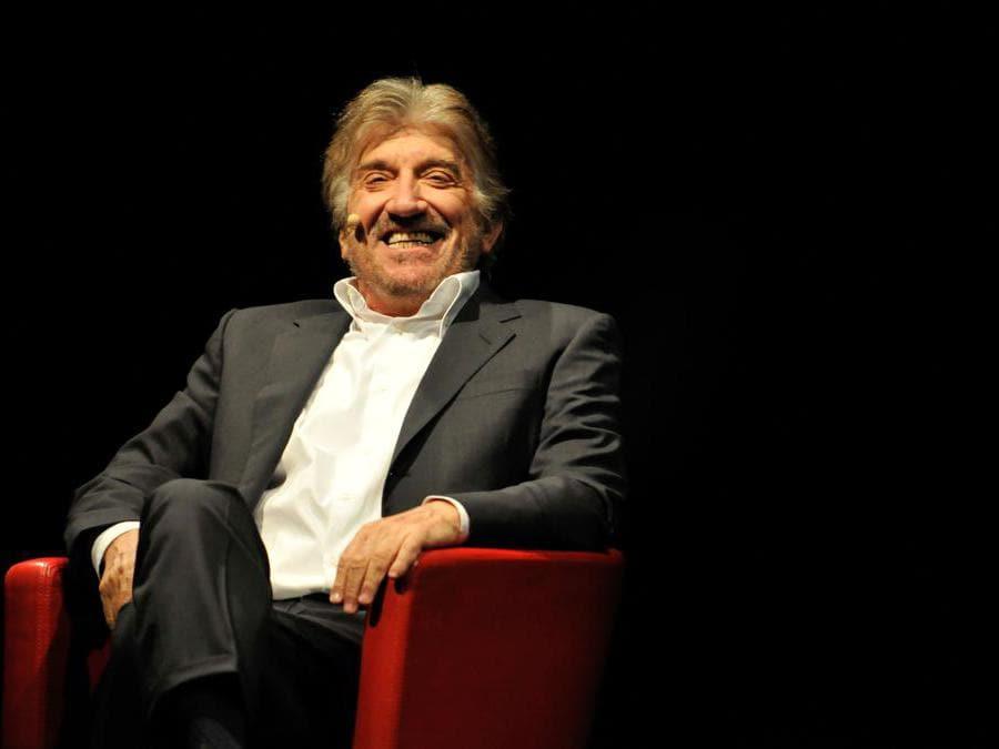 Roma 18/02/2009 Spettacolo teatrale di Gigi Proietti nella foto l'attore (Foto IPP/Cavaliere Emiliano)