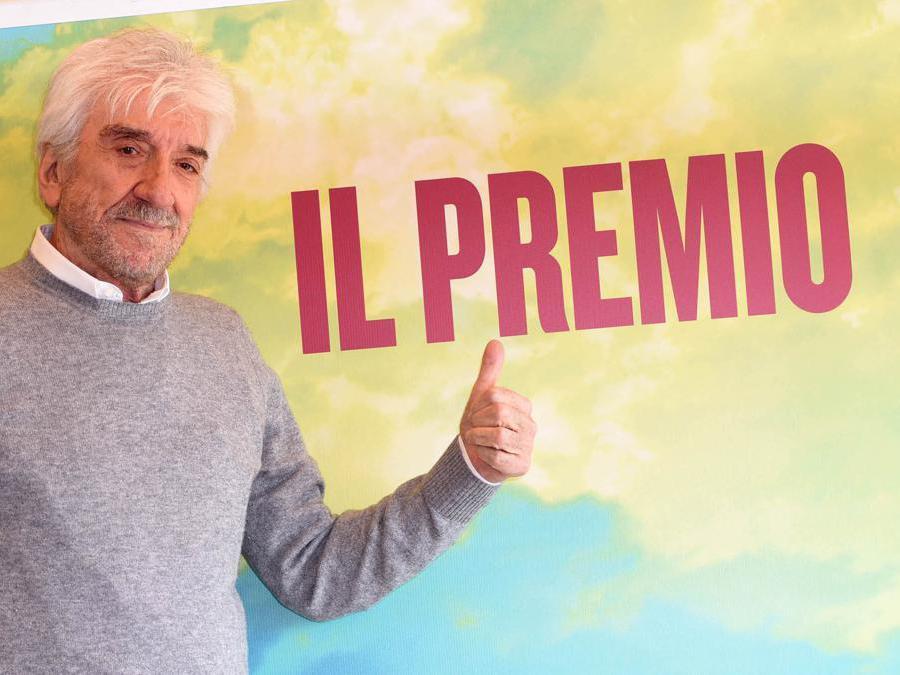 Roma 04/12/2017 presentazione del film Il premio nella foto Gigi Proietti (Foto IPP/Gioia Botteghi)