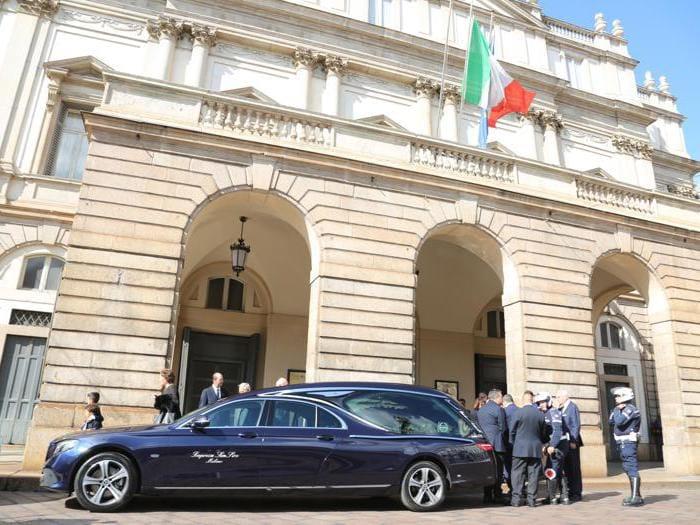 Giorgio Squinzi, i funerali nel Duomo di Milano