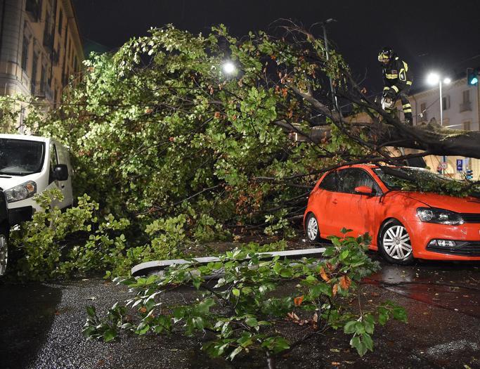 I danni del maltempo da Arezzo a Fiumicino