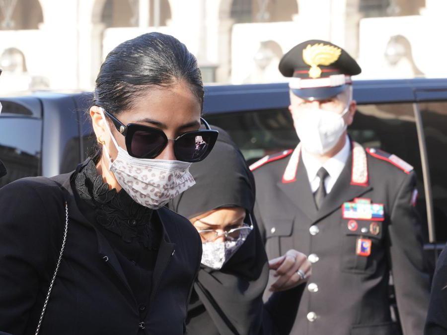 Zakia Seddiki, la moglie dell'ambasciatore Luca Attanasio (Imagoeconomica)