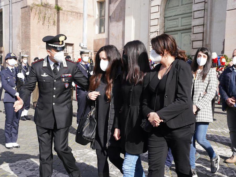 Domenica Benedetto, fidanzata di Vittorio Iacovacci (Imagoeconomica)