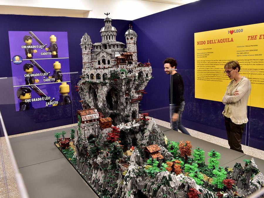 Apertura della Mostra «I Love Lego» alla Permanente di Milano di Via Turati (Duilio Piaggesi/Fotogramma)e