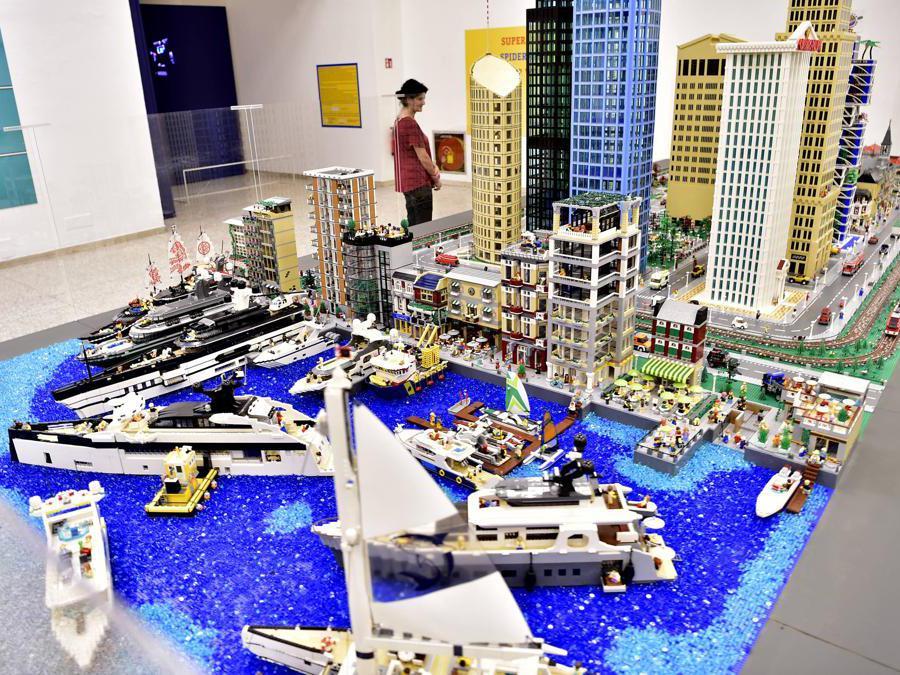Apertura della Mostra «I Love Lego»alla Permanente di Milano di Via Turati (Duilio Piaggesi/Fotogramma)