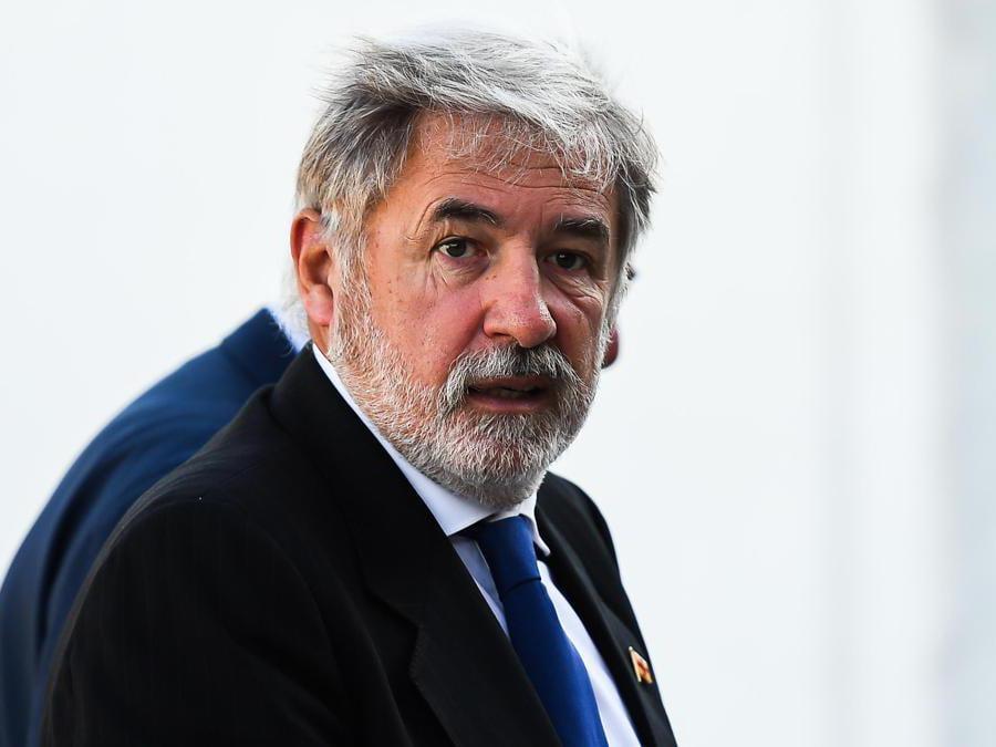Il sindaco di Genova  Marco Bucci (Simone Arveda/Ansa)