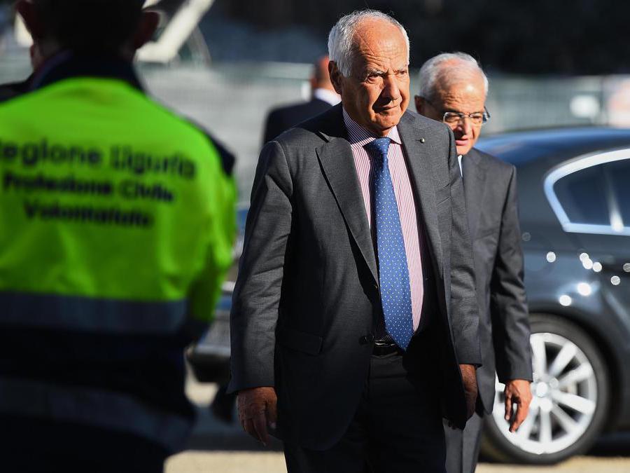 Il presidente di Atlantia  Fabio Cerchiai (Simone Arveda/Ansa)