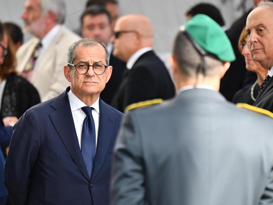 Il ministro dell'Economia  Giovanni Tria (Luca Zennaro/Ansa)