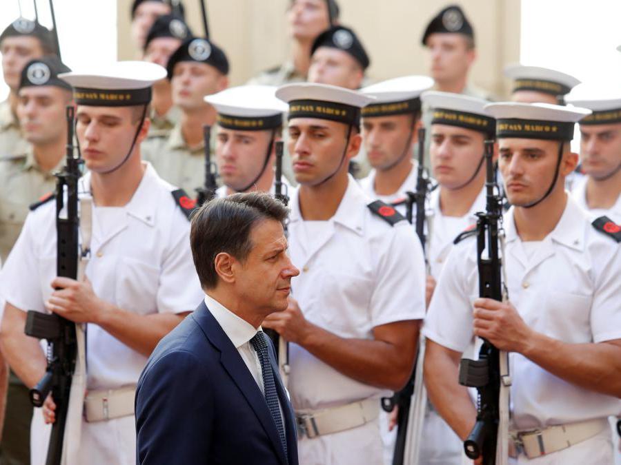Il primo ministro italiano Giuseppe Conte. REUTERS/Remo Casilli