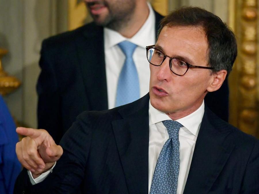 Il Ministro degli affari regionali  Francesco Boccia. (Photo by Andreas SOLARO / AFP)