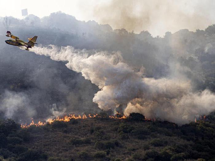 L'Italia devastata dagli incendi