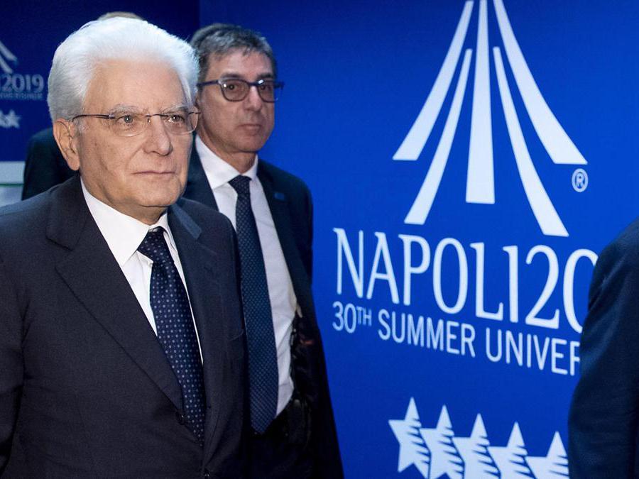 Il presidente della Repubblica Sergio Mattarella (ANSA/PAOLO GIANDOTTI)