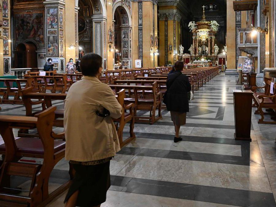 Chiesa di Santa Maria in Traspontina a Roma (Foto  Vincenzo Pinto / AFP)