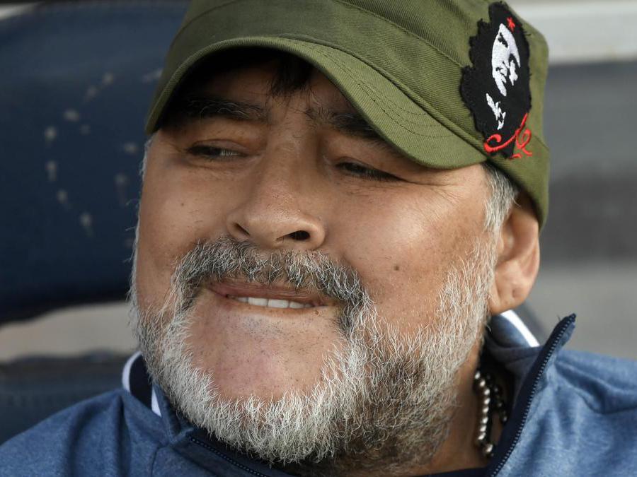 Diego Armando Maradona allenatore del Gimnasia Superliga Argentina -2019-2020 (Jam Media/Ipp)