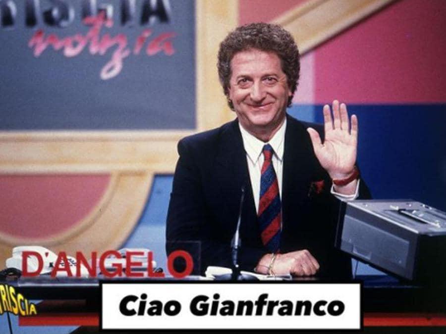 Il post su Instagram di Striscia la notizia dopo la morte di Gianfranco D'Angelo, 15 agosto 2021 (Ansa)