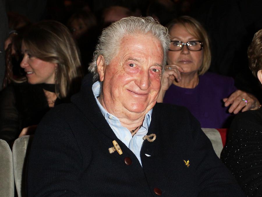 Gianfranco D'Angelo al Teatro Sistina prima dell'inizio de «Il Vizietto - La Cage aux Folles»  (Ernesto Ruscio/Getty Images)