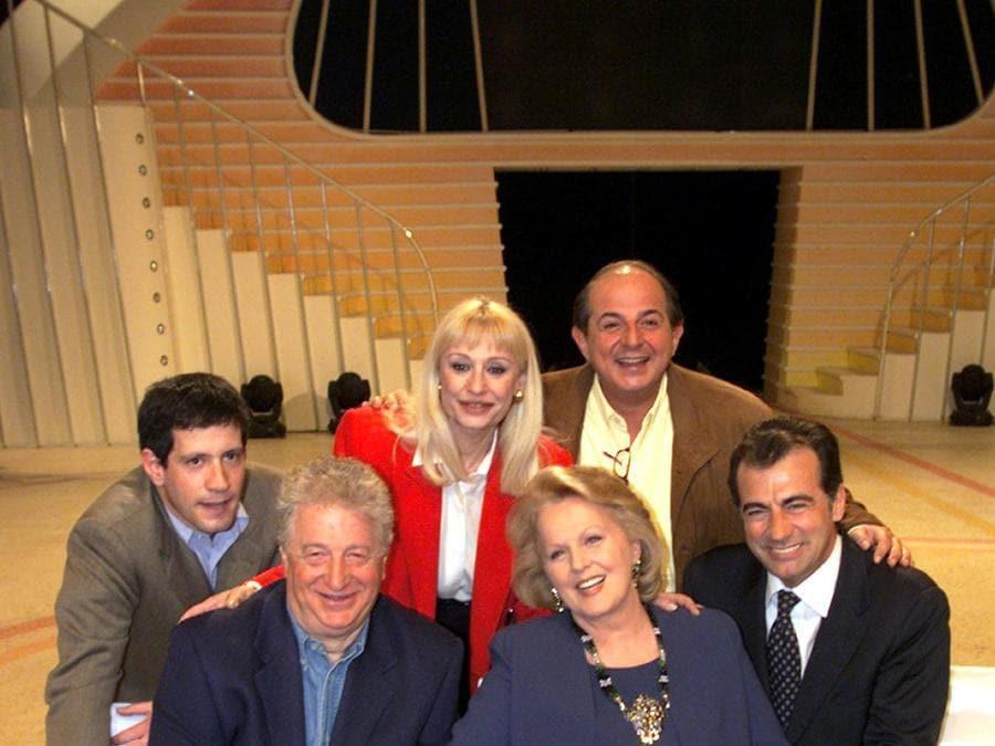 Gianfranco D'Angelo  a «Segreti e bugie» nel 1990