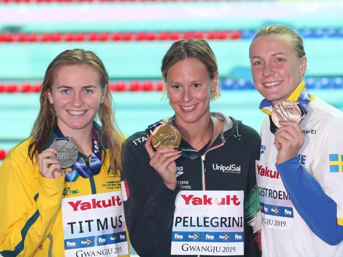 Nuoto, Italia «divina»: doppio oro Pellegrini-Paltrinieri