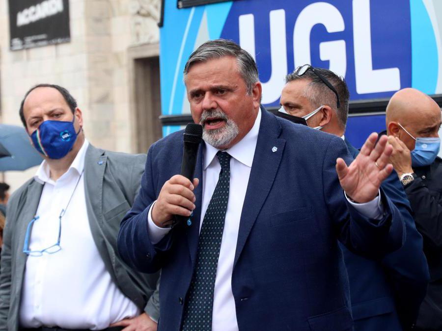 Il segretario dell'Ugl, Francesco Paolo Capone (IPP)