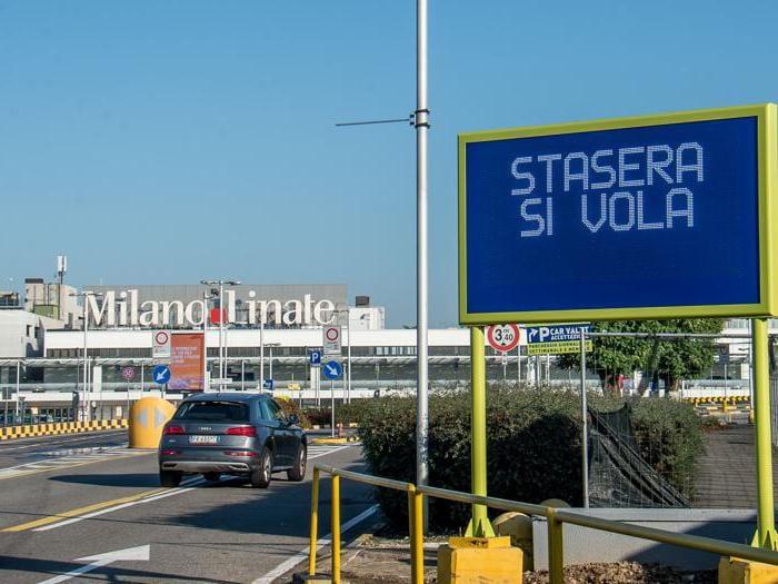 Riapre Linate dopo tre mesi di stop