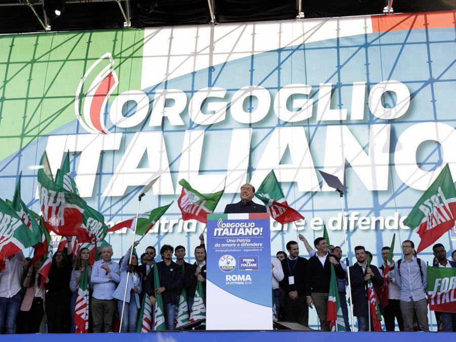 Silvio Berlusconi.  (AP Photo/Andrew Medichini)