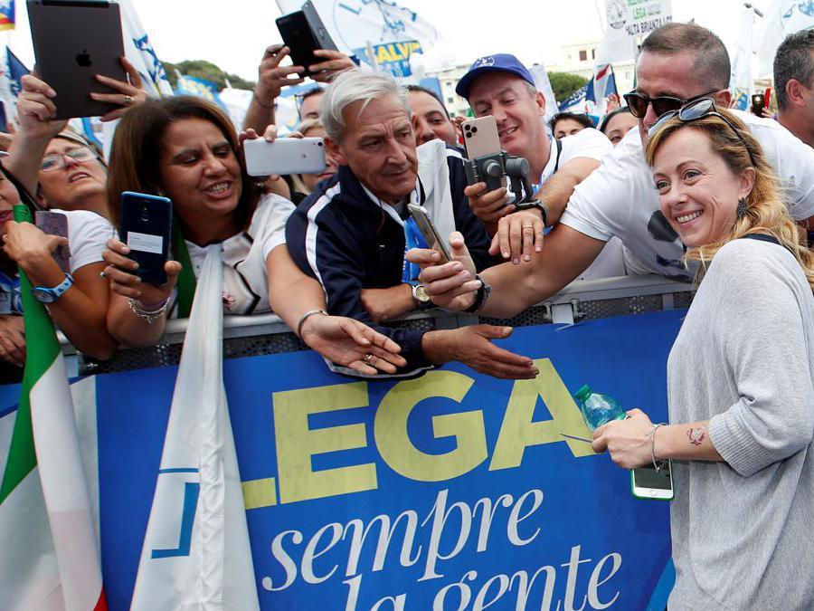 Giorgia Meloni  (Reuters/Remo Casilli)