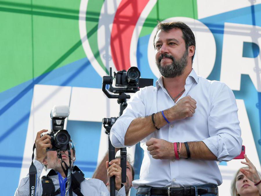 Matteo Salvini  (Ansa/Alessandro Di Meo)